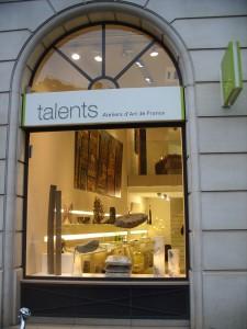 vitrine Talents Opéra janvier 2010